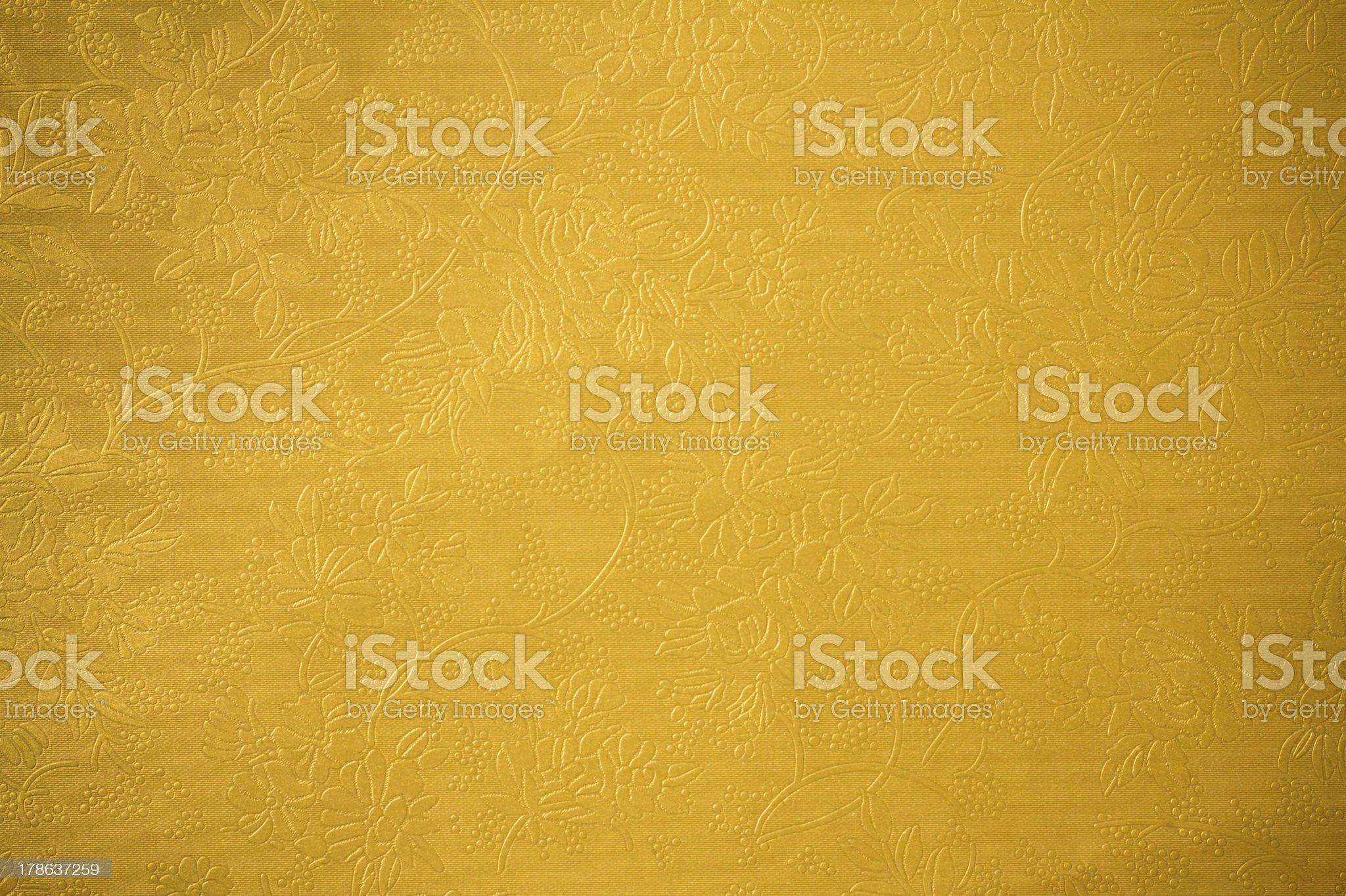 Golden vintage background royalty-free stock photo