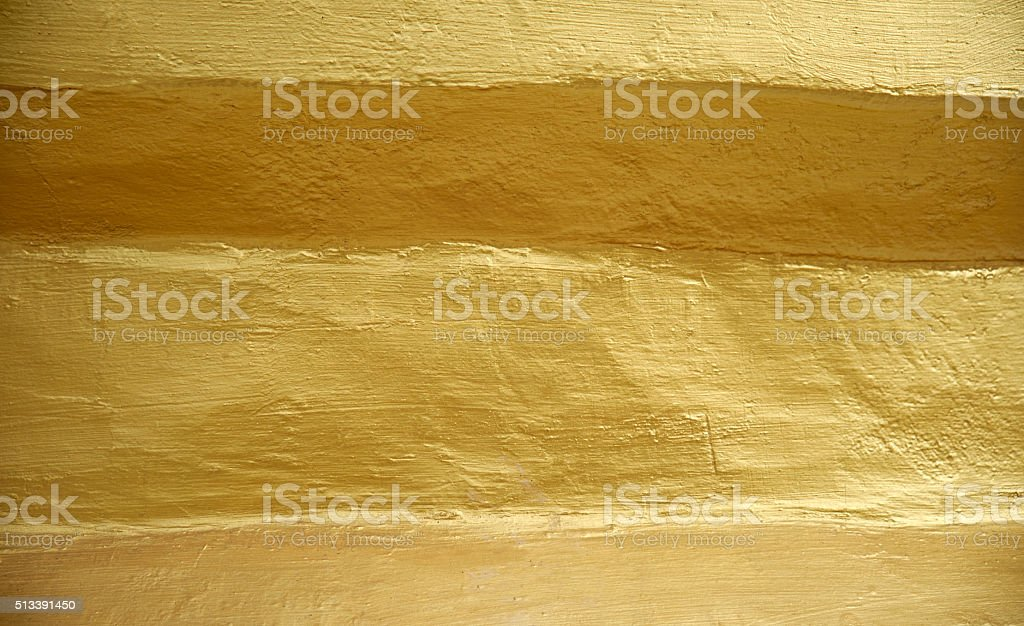 Golden Wall stock photo