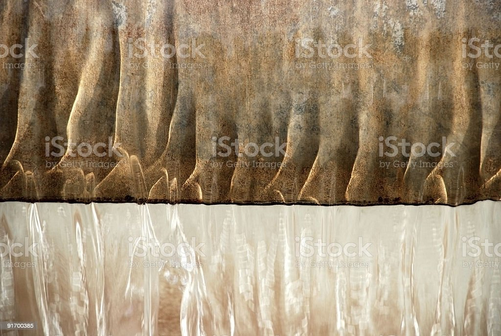 Golden water texture royalty-free stock photo