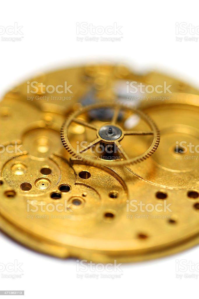 Golden Wheel stock photo