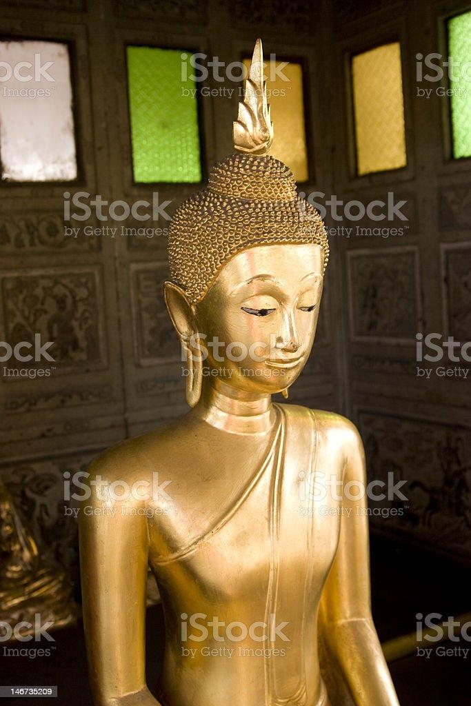 Goldener Buddha royalty-free stock photo