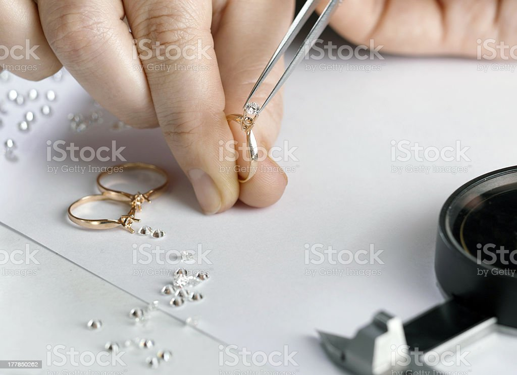 goldsmith stock photo