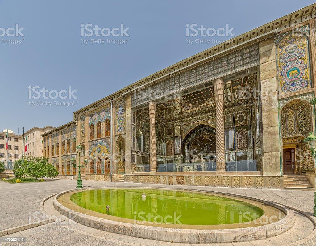 Golestan Palace exterior stock photo