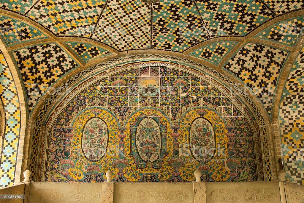 Golestan Palace stock photo