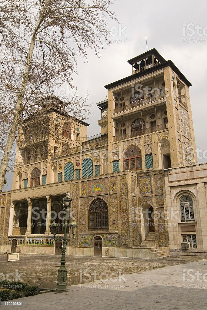 Golestan Palace, Tehran, Iran royalty-free stock photo