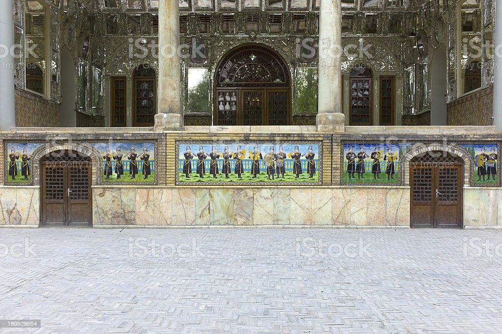 Golestan Palace, Tehran, Iran stock photo