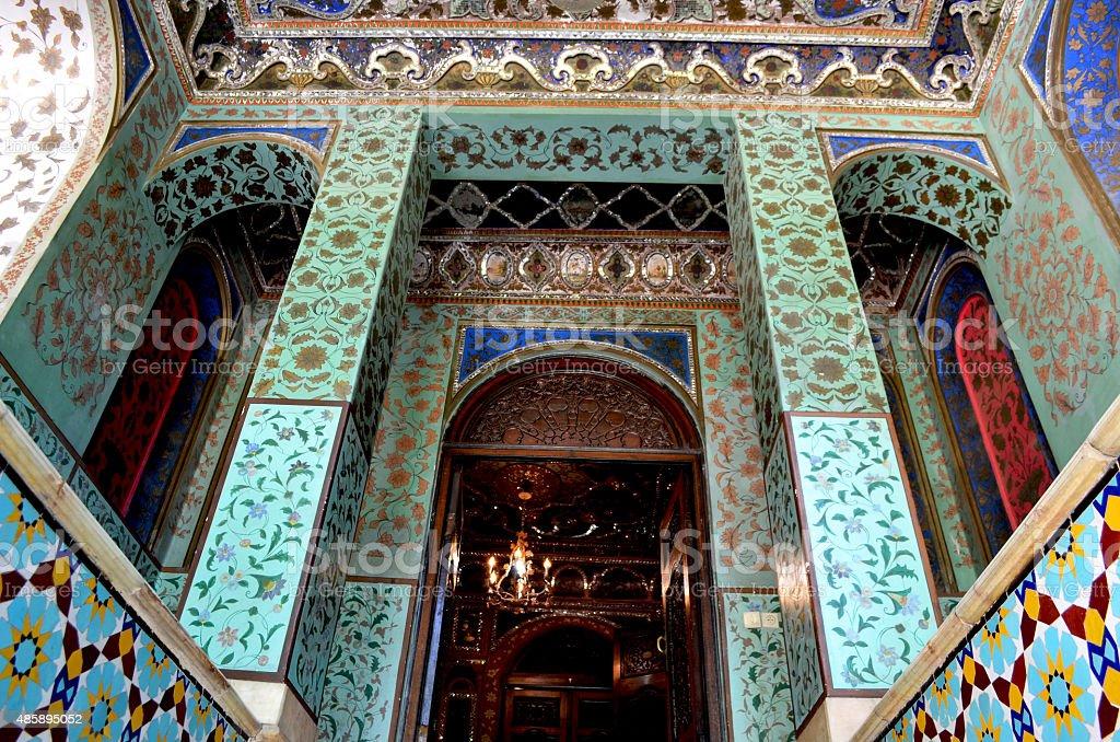 Golestan Palace, Tehran / Iran stock photo