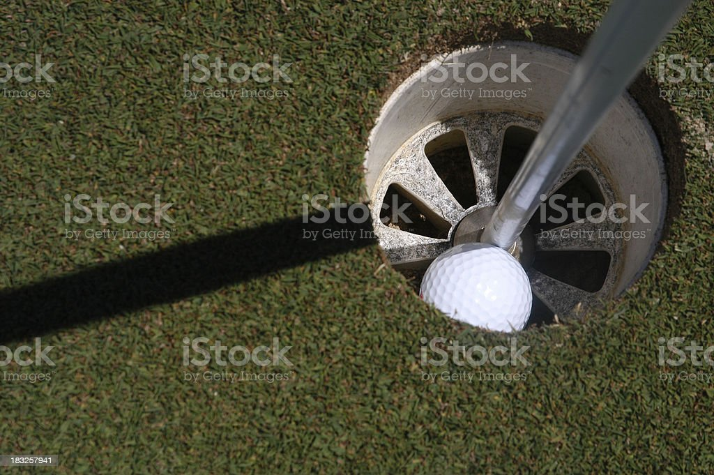 Golf 13 - Hole in One royalty-free stock photo