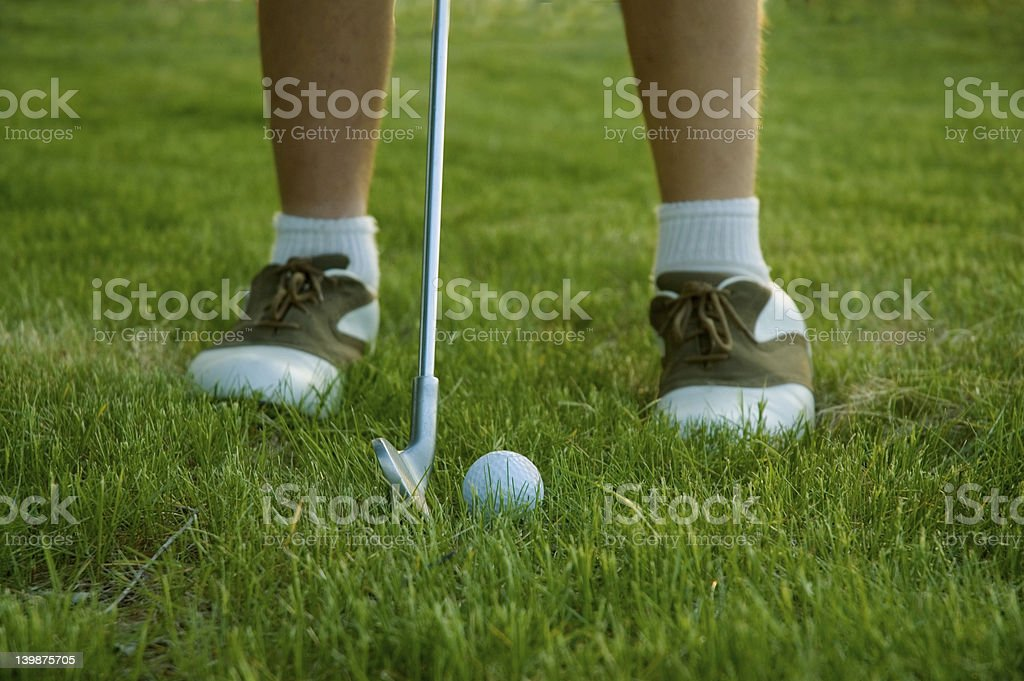Golf 5 royalty-free stock photo