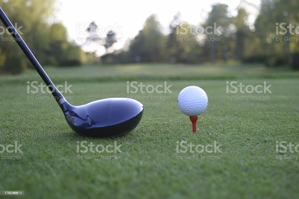 golf 6 stock photo