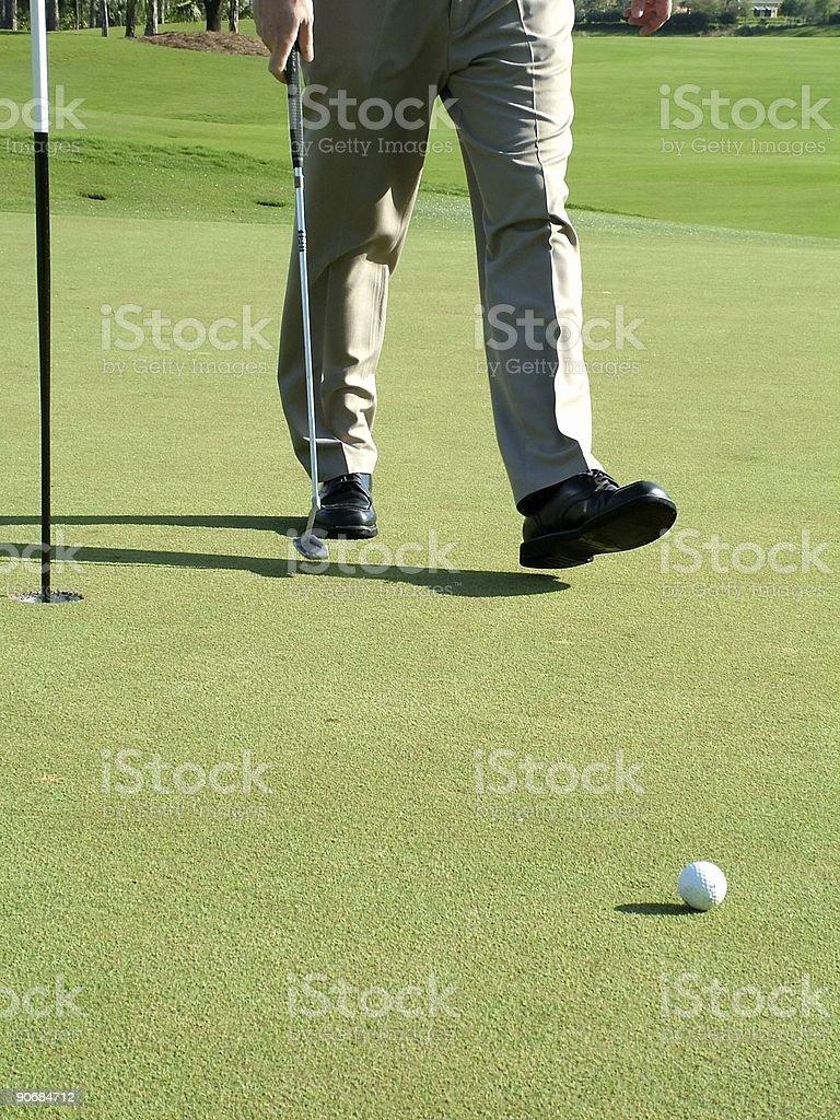 Golf 6 royalty-free stock photo