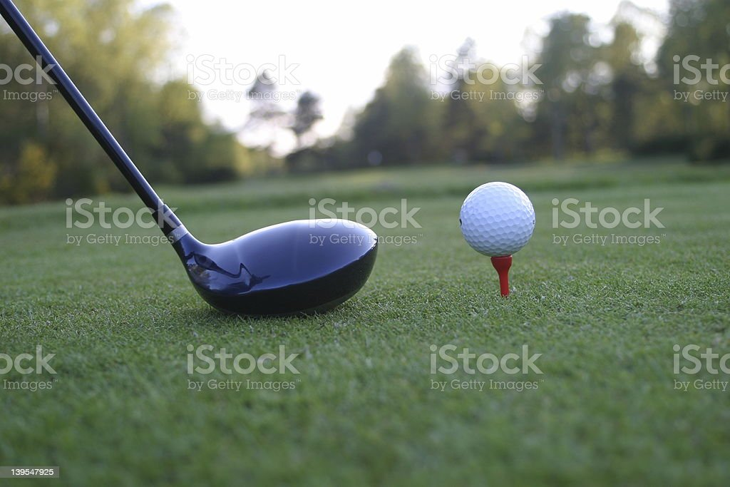 golf 7 royalty-free stock photo