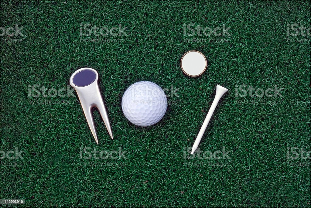 Golf Accessories stock photo