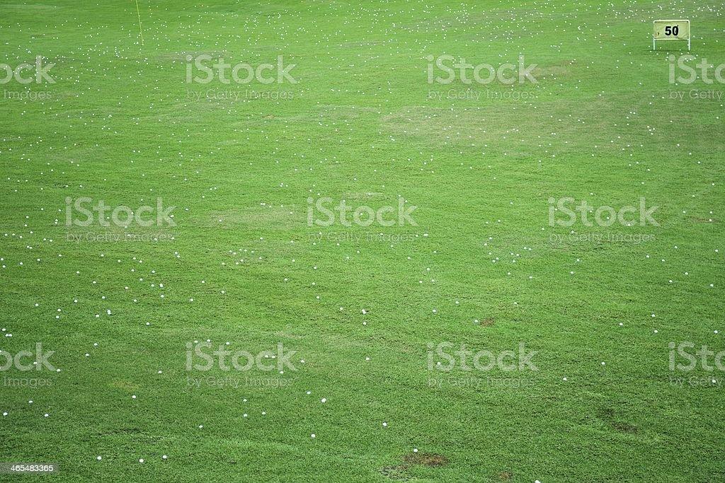 Golf background royalty-free stock photo
