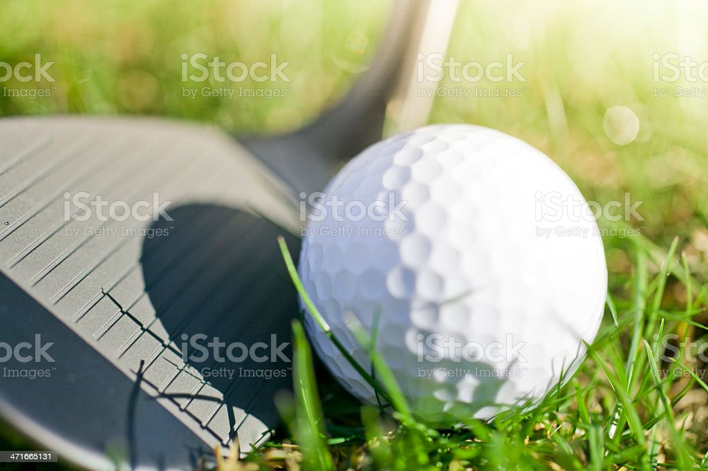 Golf background royalty-free stock photo