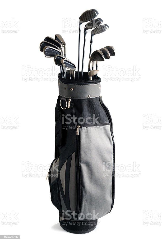 Golf Bag and Clubs - XXXLarge royalty-free stock photo