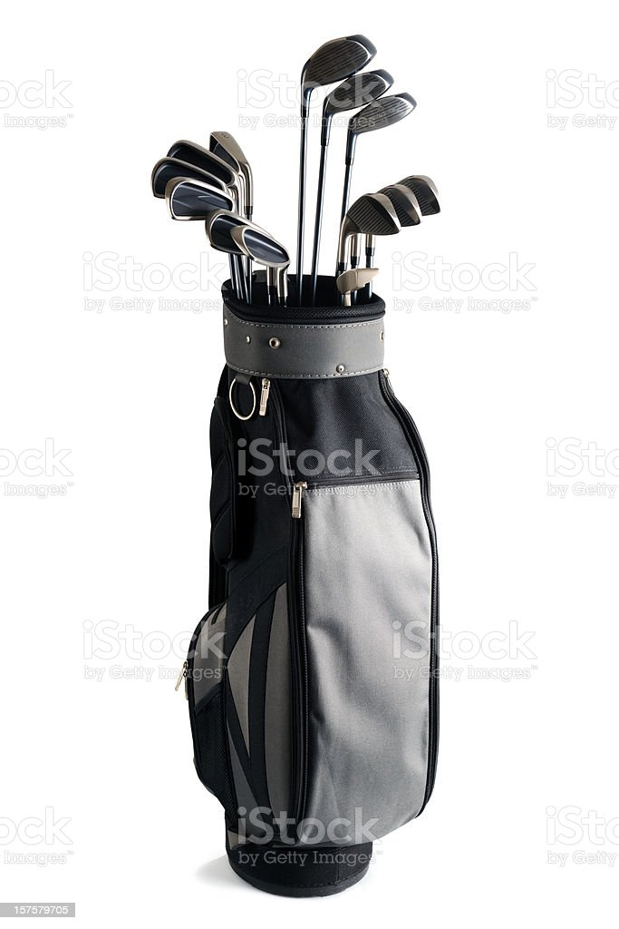 Golf Bag and Clubs - XXXLarge stock photo