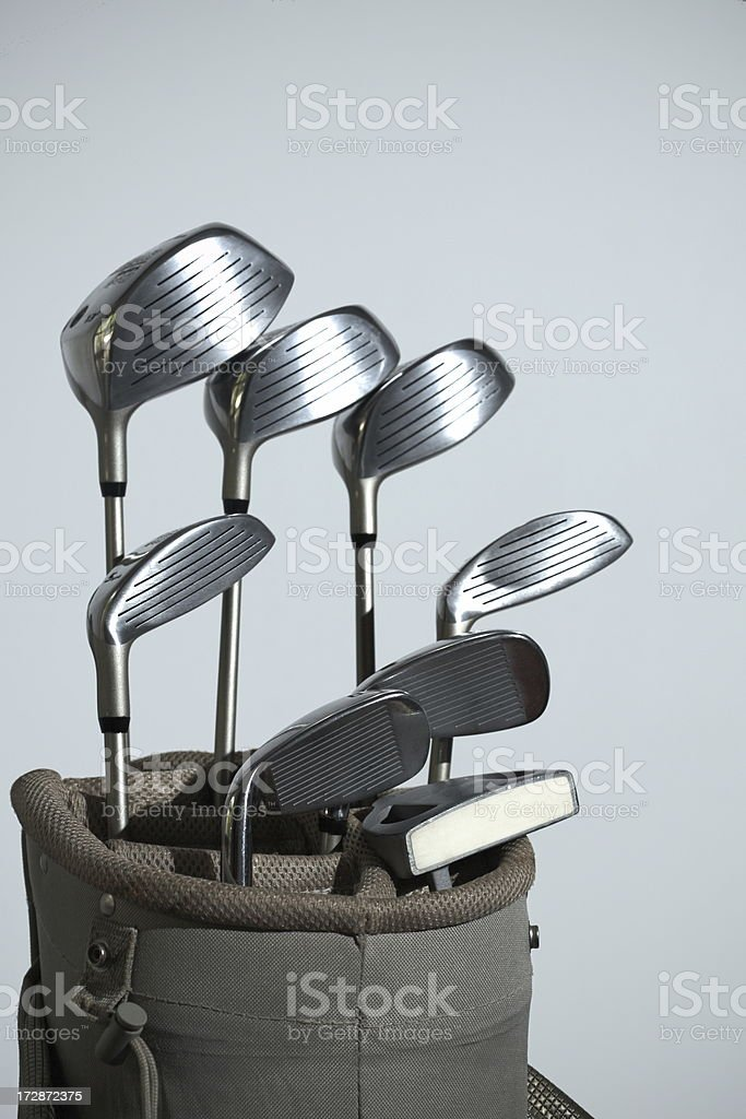 golf bag royalty-free stock photo