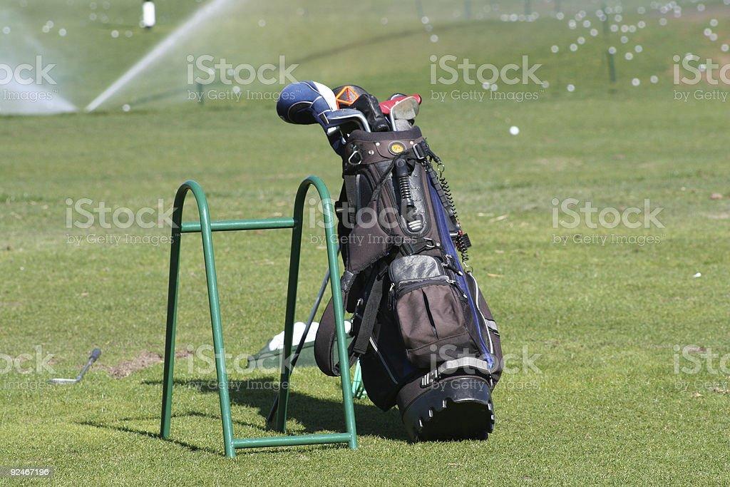 Golf Bag royalty-free stock photo