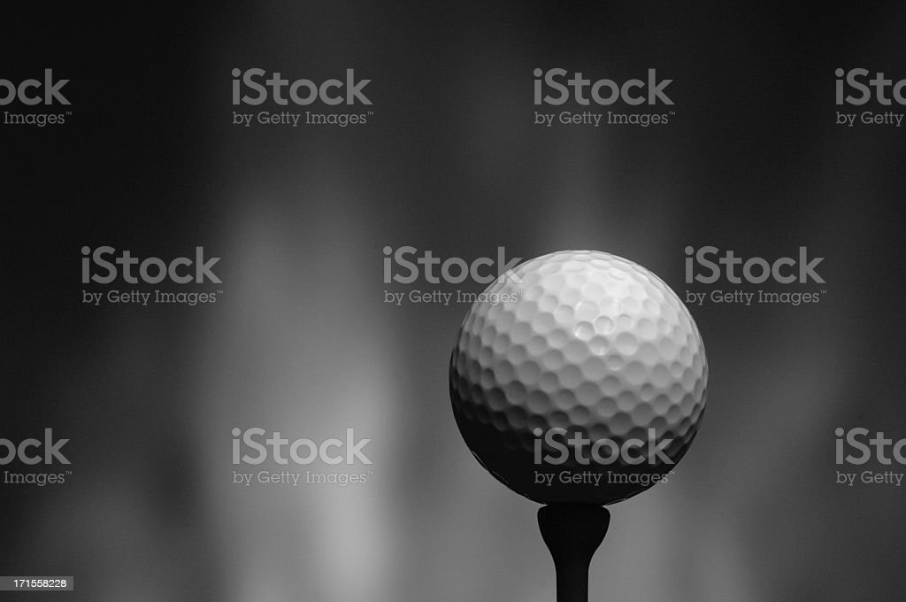 golf ball background stock photo