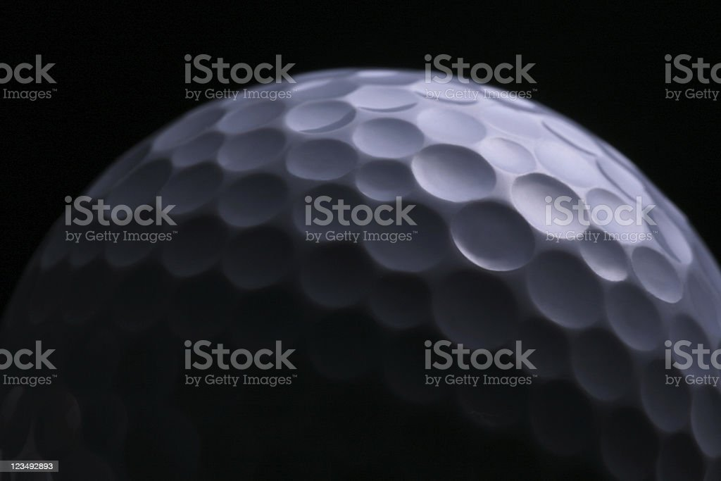 golf ball close up royalty-free stock photo