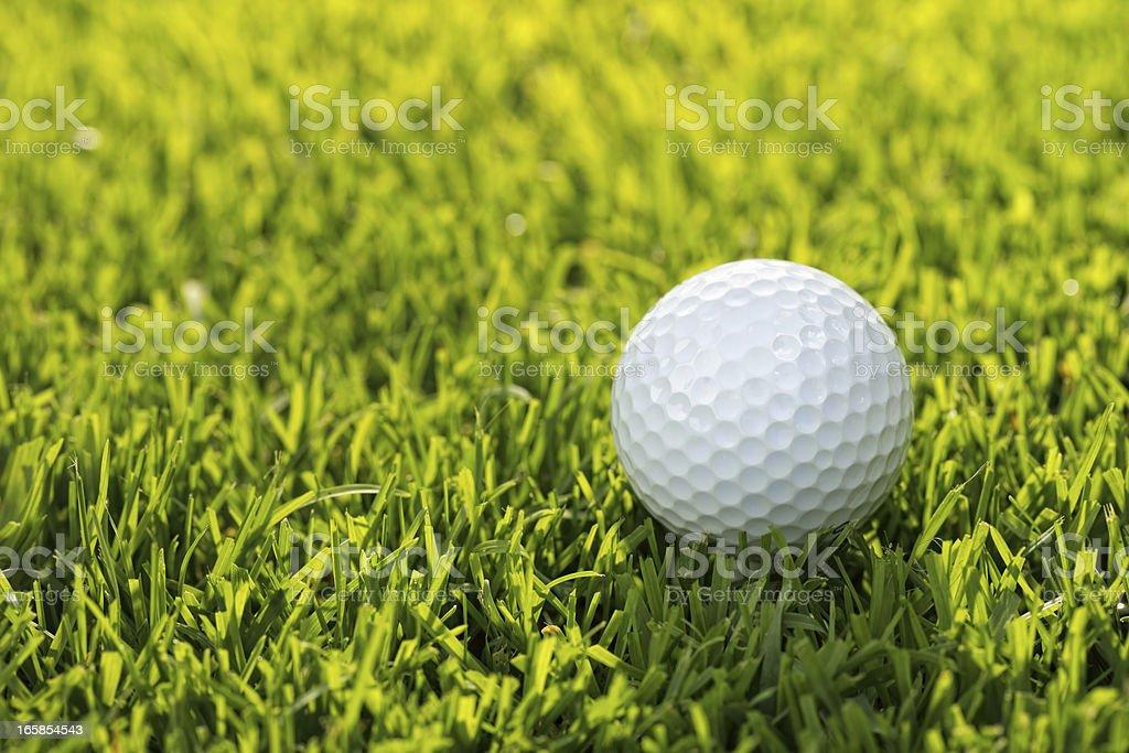Golf ball royalty-free stock photo