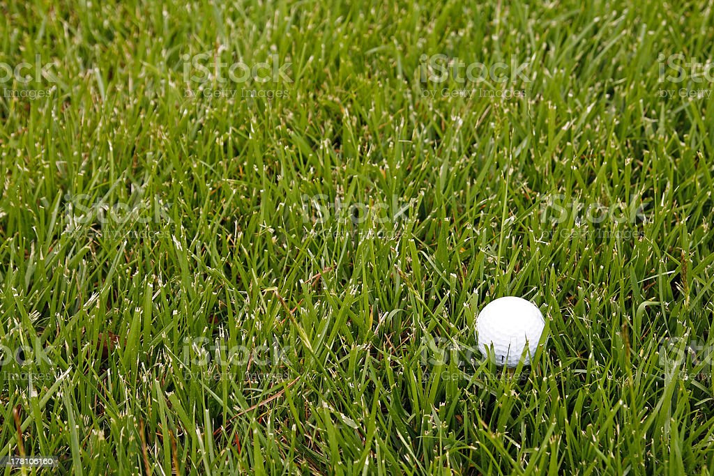 Bola de golf royalty-free stock photo