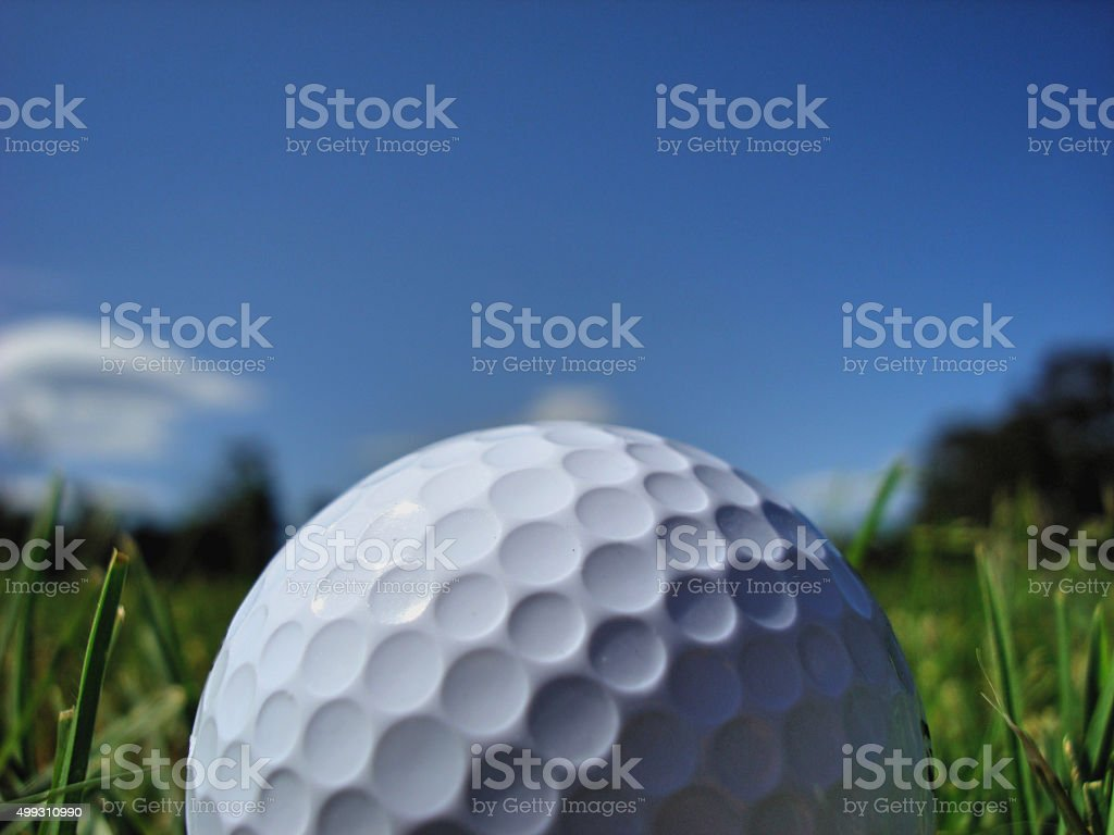 Golf Ball (Close up) stock photo