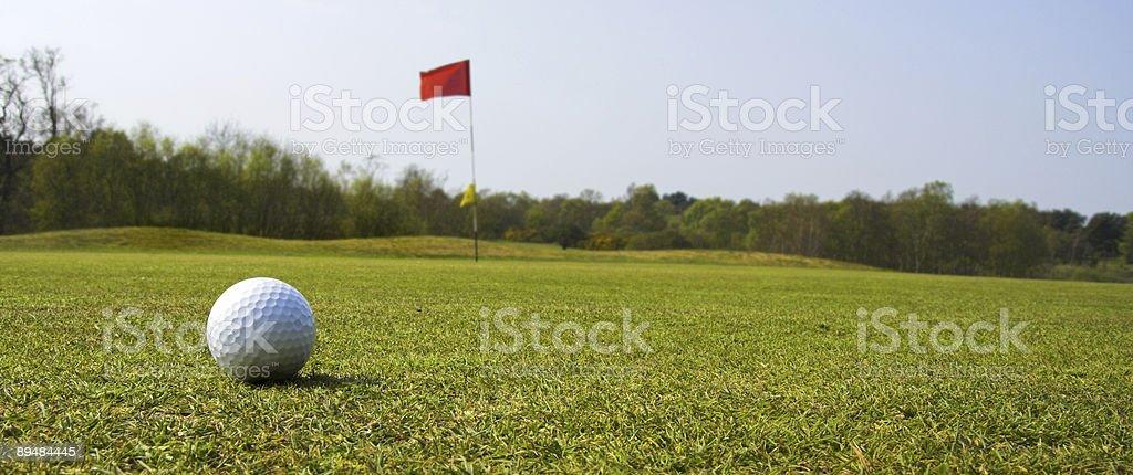 Piłka do golfa zbiór zdjęć royalty-free