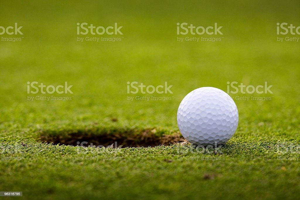 golfball stock photo