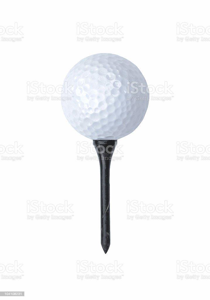 Golf Ball Ready To Go stock photo
