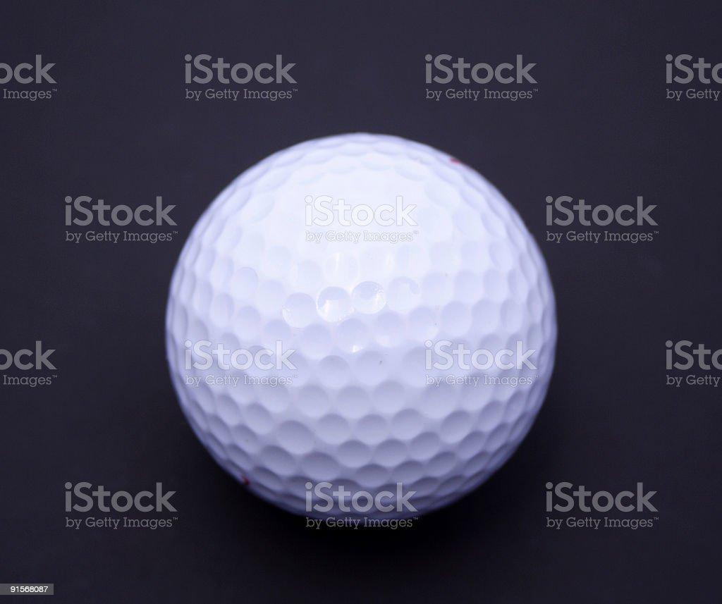 Golf Balls on blue background royalty-free stock photo