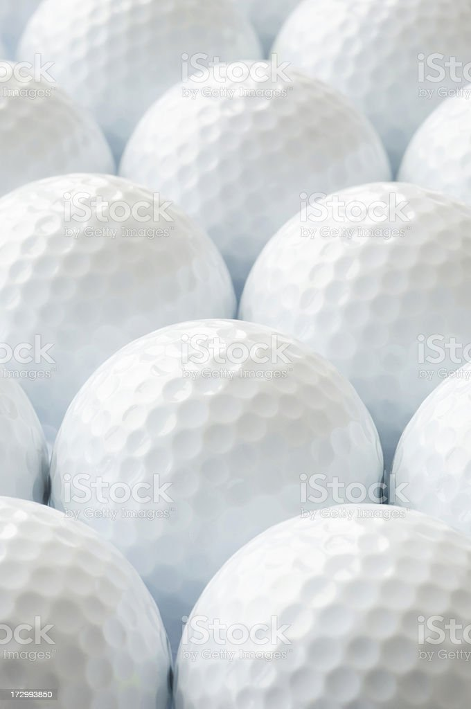 Golf balls royalty-free stock photo