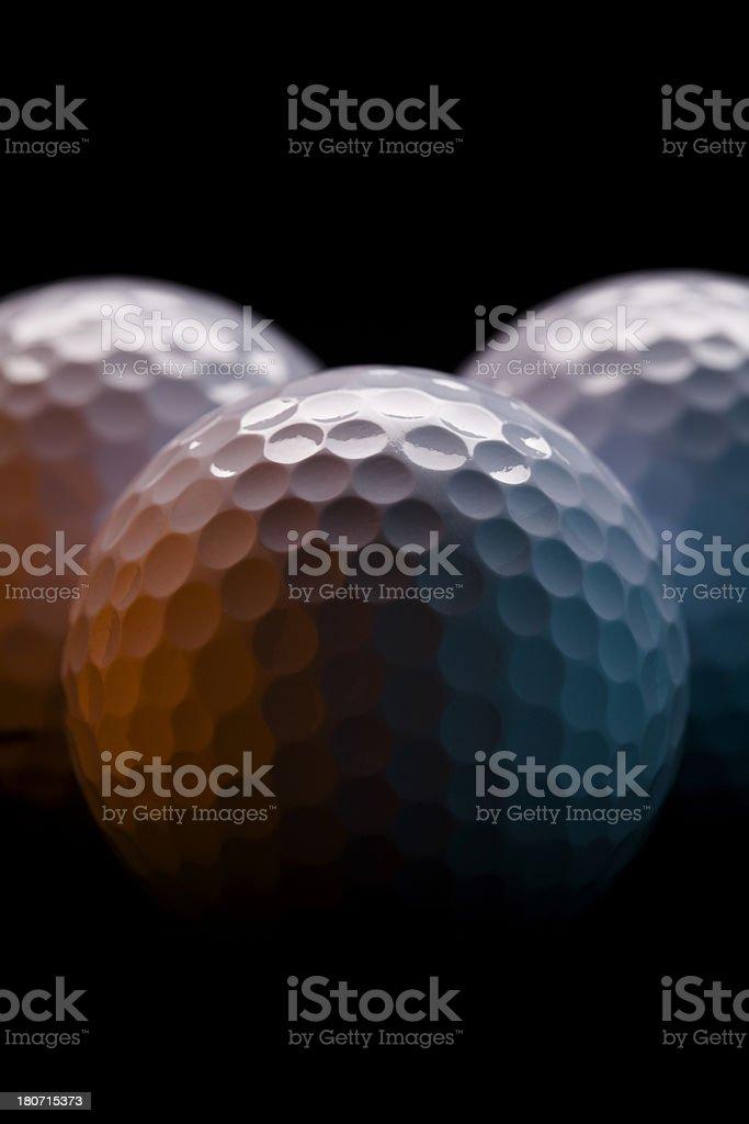 Golf Balls royalty-free stock photo