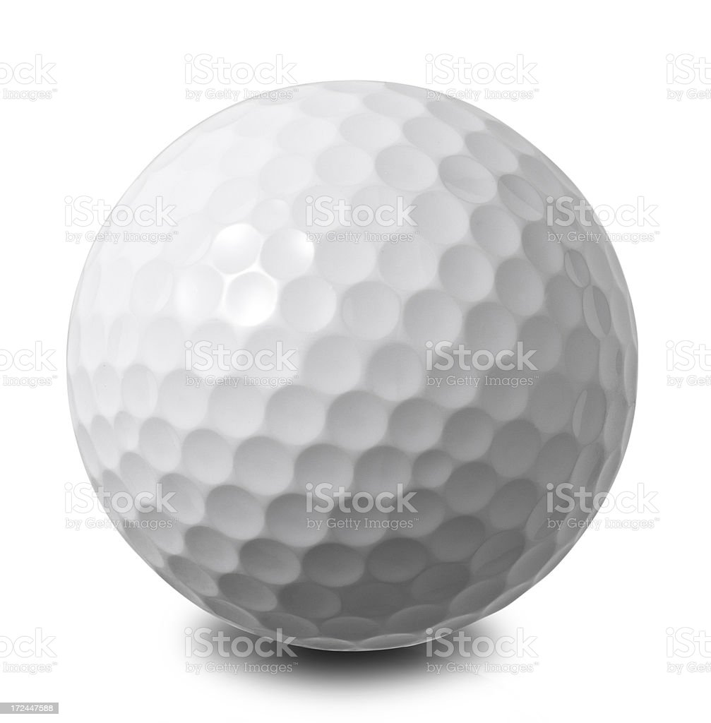 Golf Ball-World globe stock photo