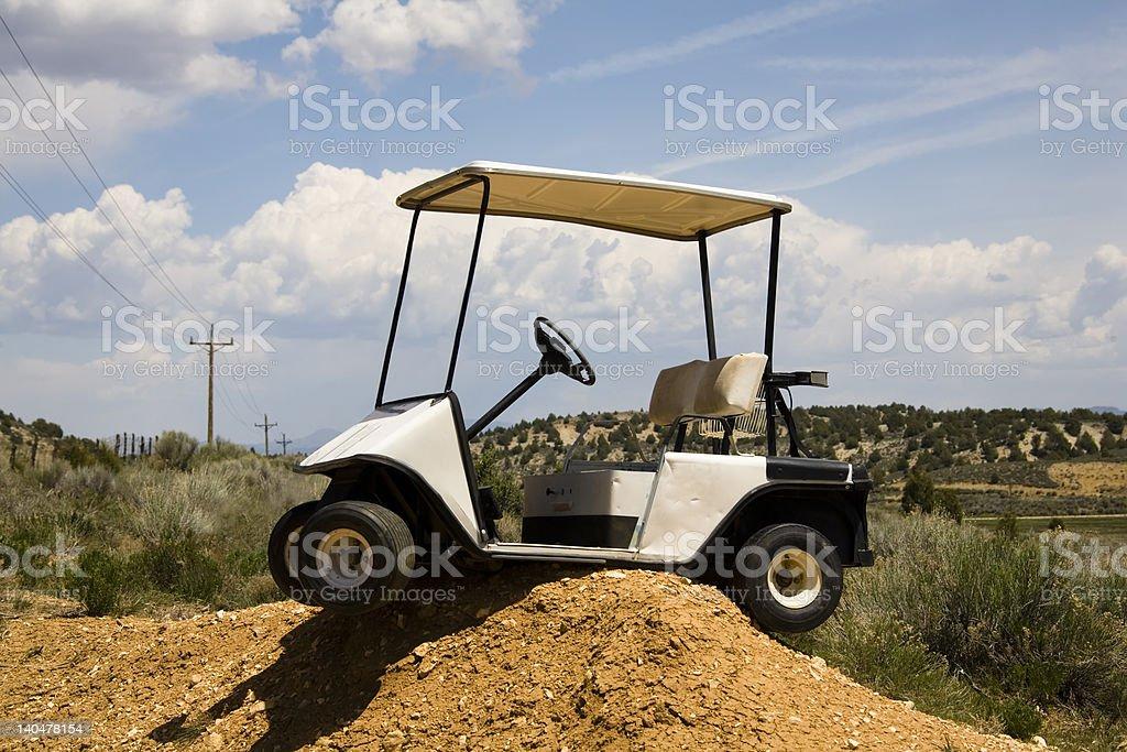 Golf Cart foto stock royalty-free