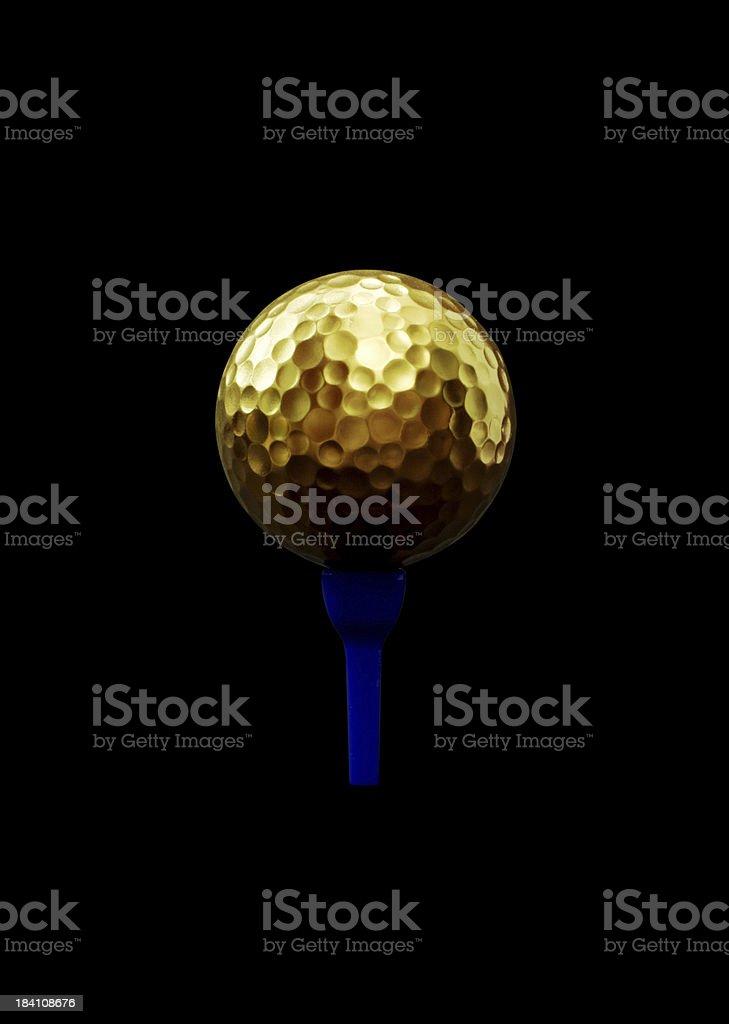 Golf Champion royalty-free stock photo