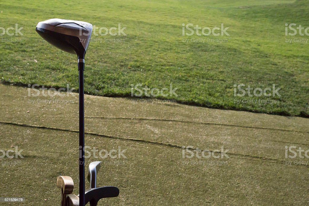 golf club green stock photo
