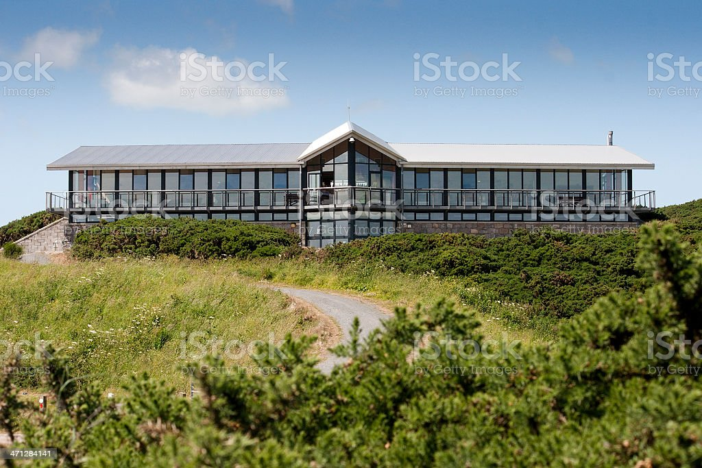 Golf Club House - Newburgh, Aberdeenshire stock photo