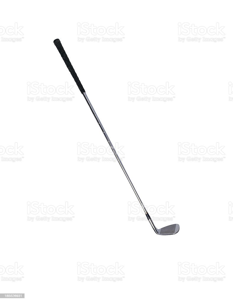 Golf club isolated over a white stock photo