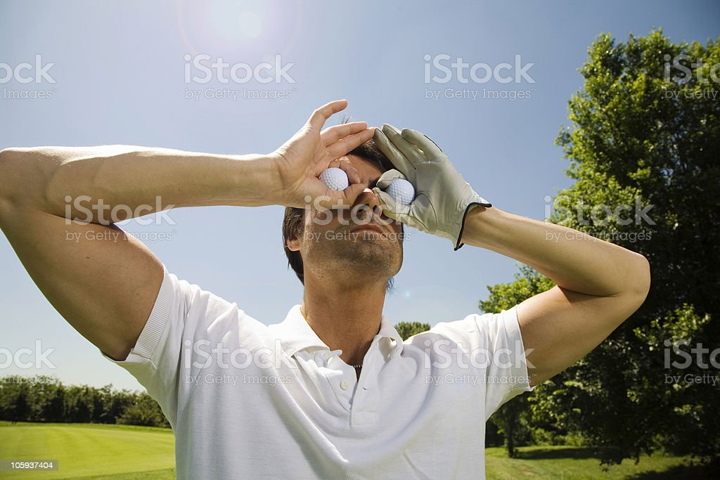 Golf club royalty-free stock photo