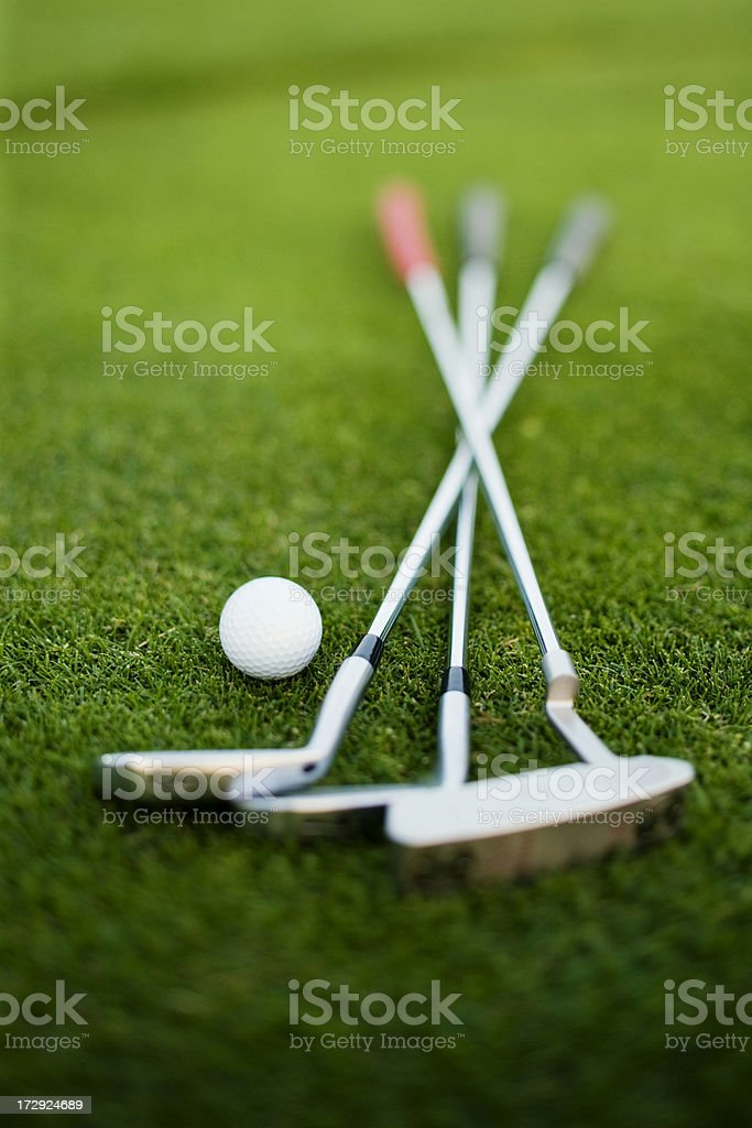Golf Clubs (XXL) royalty-free stock photo