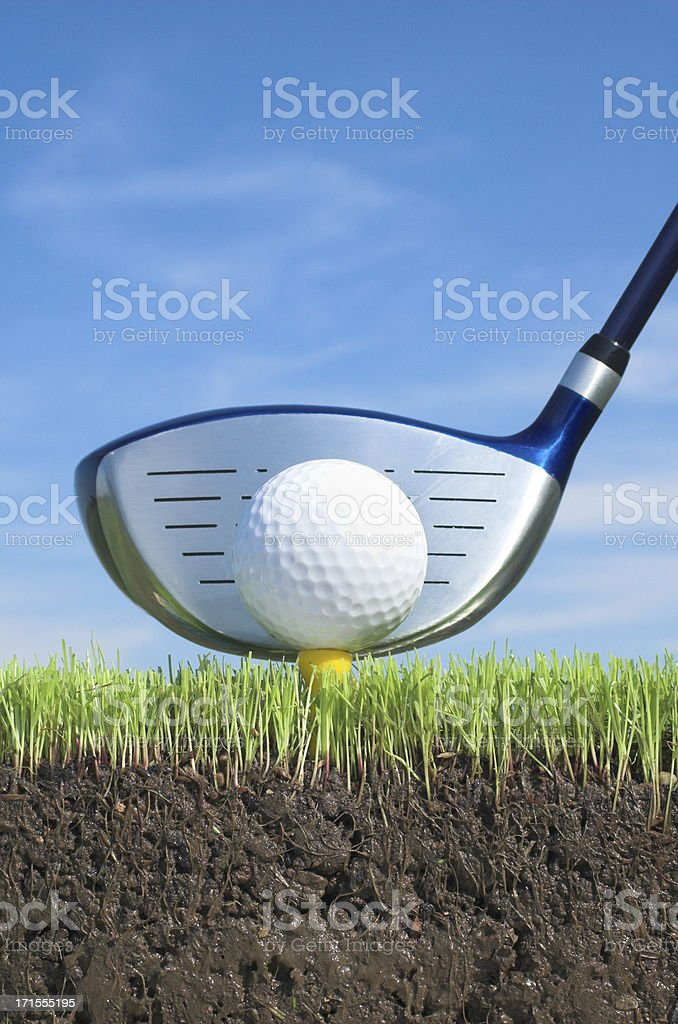 golf clum royalty-free stock photo