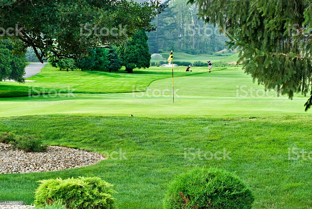 Golf Country Club in New Jersey royalty-free stock photo