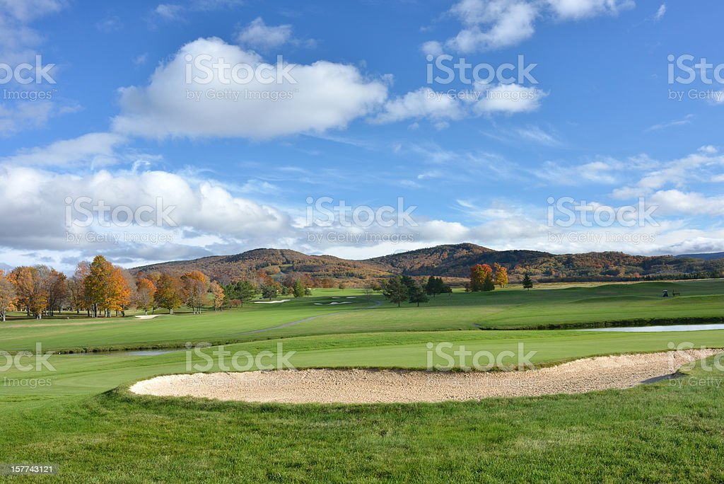 Golf Course at Canaan Valley stock photo