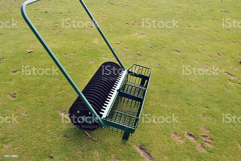 golf course equipment royalty-free stock photo