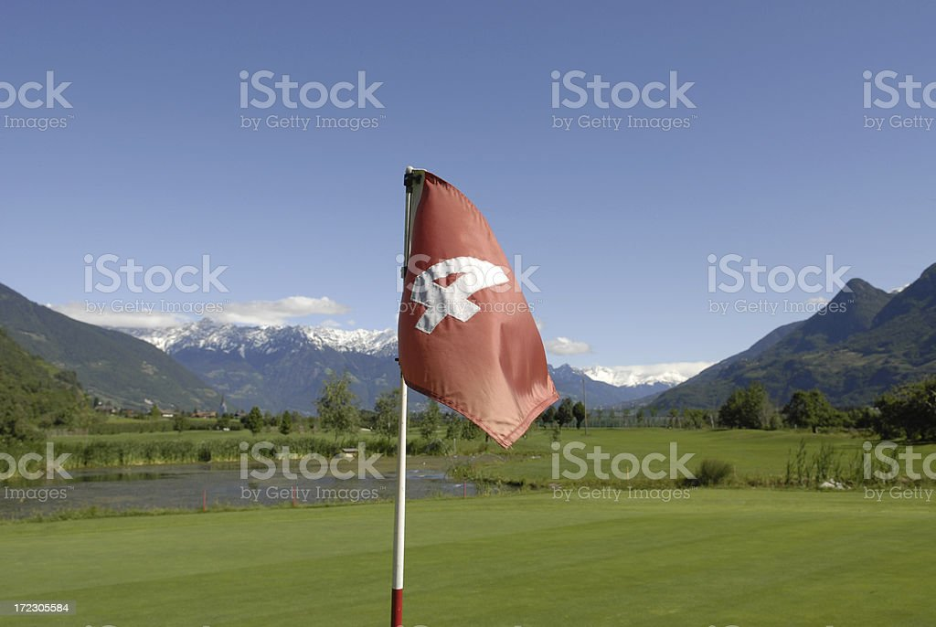Golf Course Hole 4 royalty-free stock photo