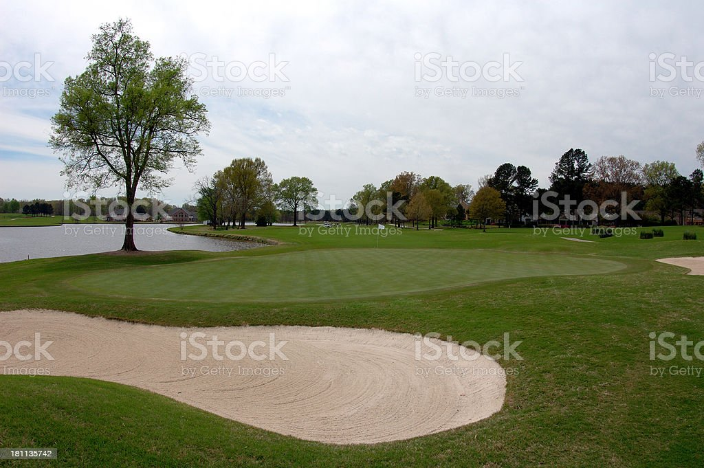 Golf Course II royalty-free stock photo