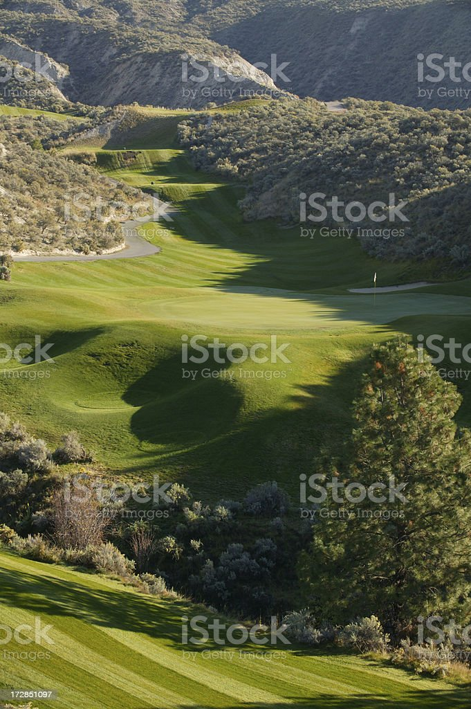 golf course kamloops royalty-free stock photo