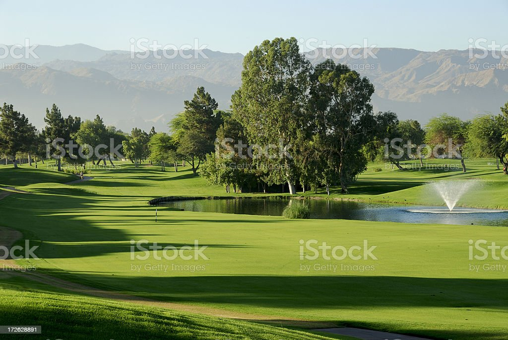 Golf Course Palm Springs stock photo
